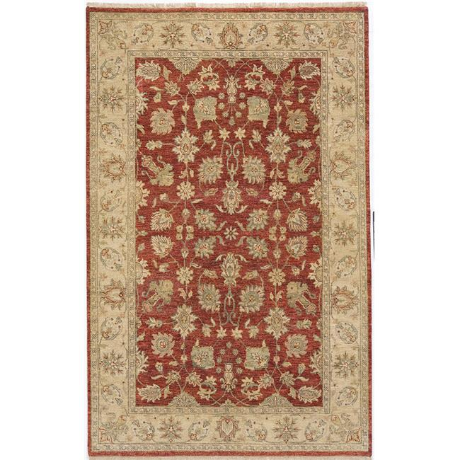 Due Process Stable Trading Thana II Kashan Tomato & Beige Area Rug, 2.06 x 22 ft.