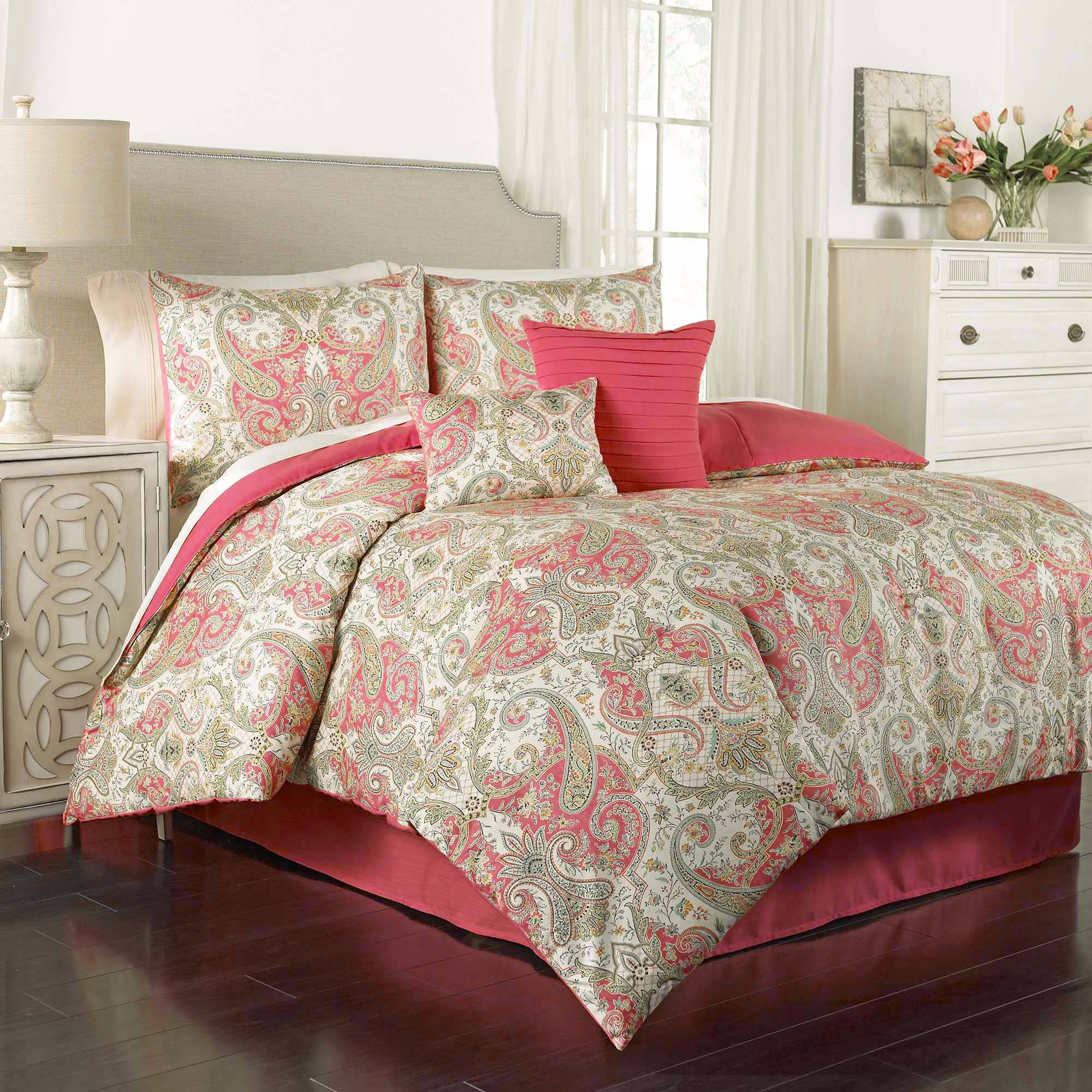 Nice Traditions By Waverly Lyrical Legend 6 Piece Bedding Comforter Set