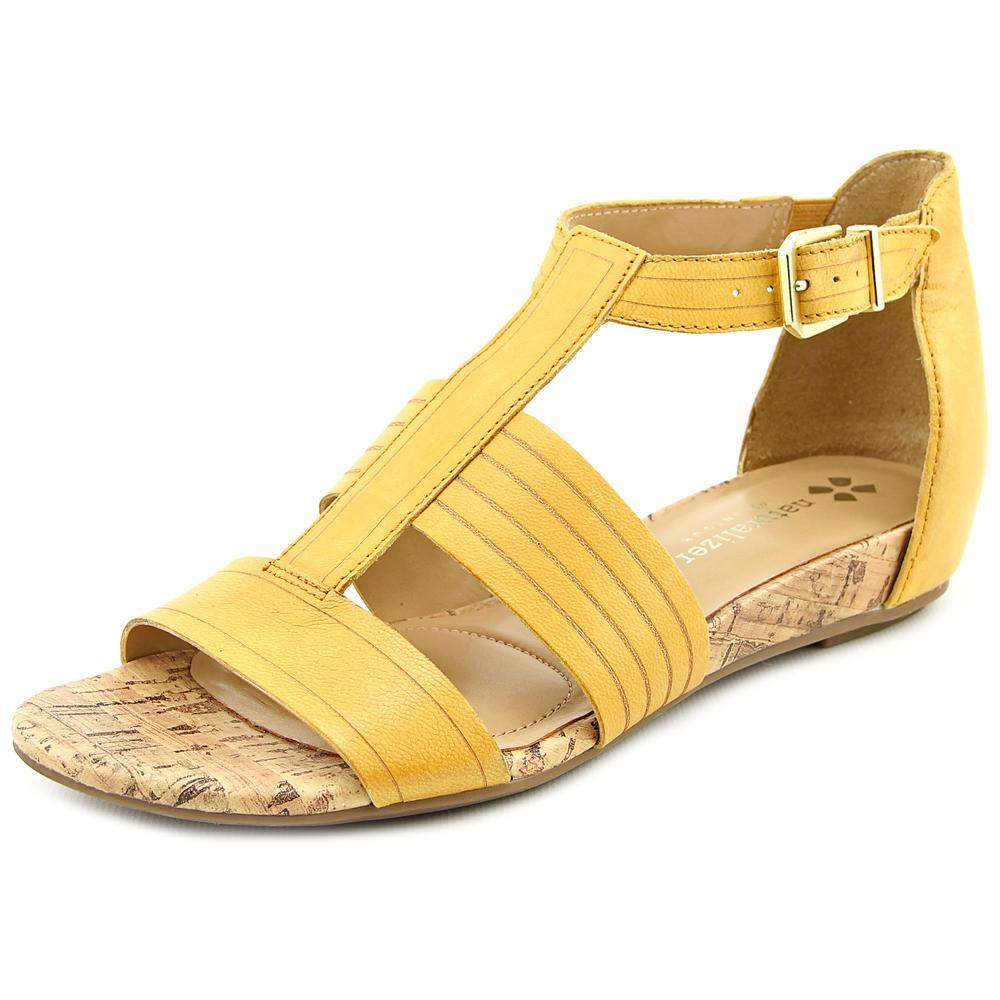 Naturalizer Longing Women Open Toe Leather Gladiator Sandal by Naturalizer