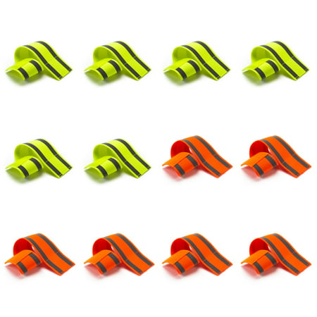 - Black Mountain Products Safety Reflective Running Bands – Pack of 10 or 12