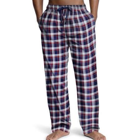Hanes Big Mens Woven Plaid Drawstring Sleep Pajama Lounge Pant (Hanes Plaid Sleep Pant)