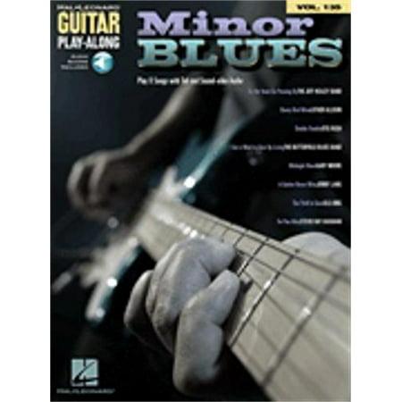Hal Leonard Minor Blues Guitar Play-Along Volume 135 -Audio Online - TAB