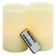 3-Pc LED Candle and Remote Set