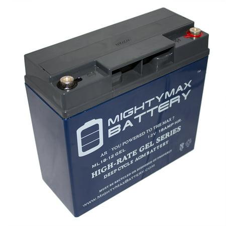 12v 18ah gel battery replaces firelite ecc 125da e center 12v 18ah gel battery replaces firelite ecc 125da e center