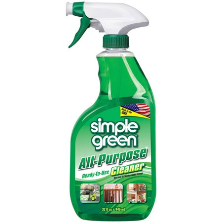 32 Oz Rtu Glass Cleaner - (3 Pack) Simple Green All-Purpose Cleaner, 32 fl oz