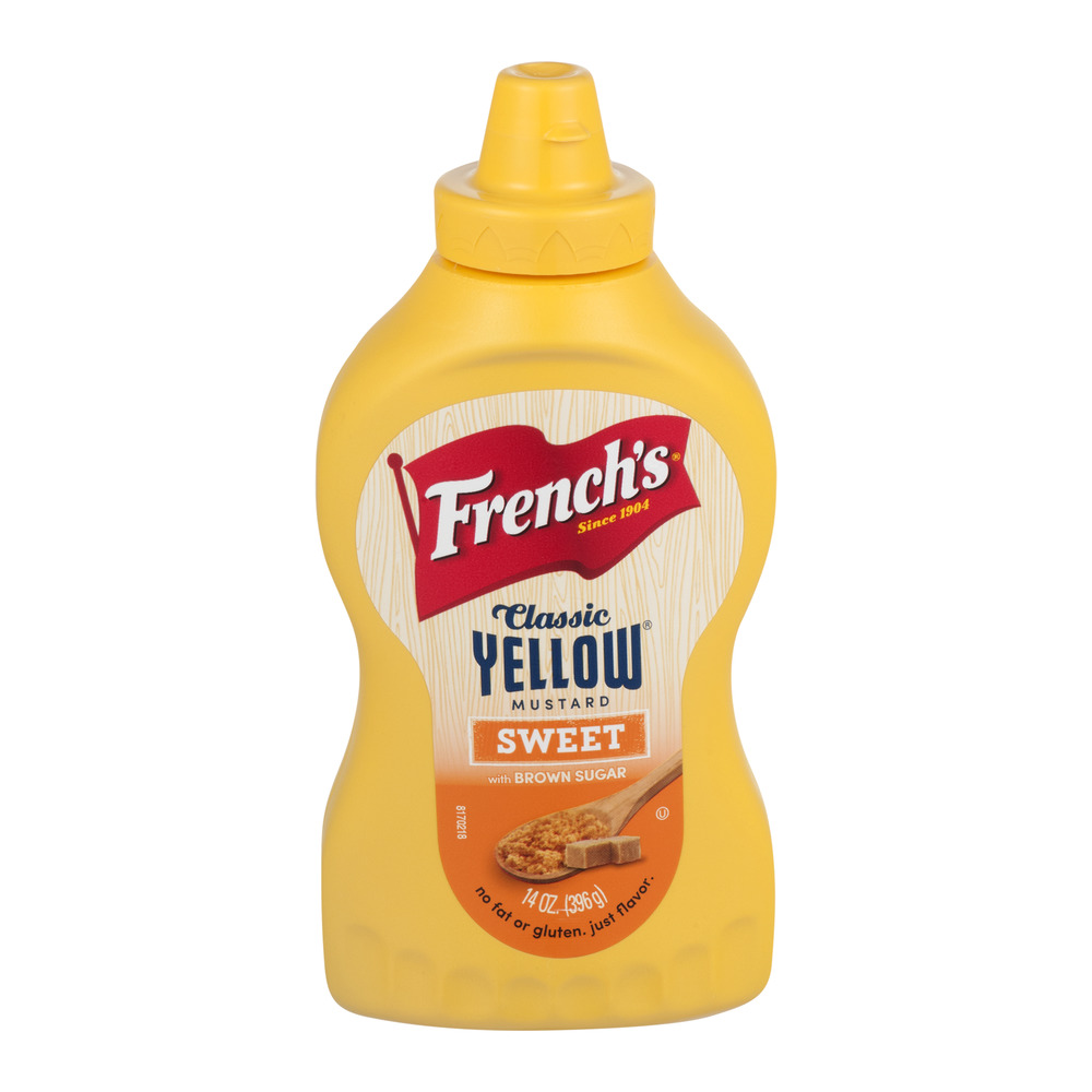 French's Classic Yellow Mustard Sweet, 14.0 OZ by The French's Food Company LLC