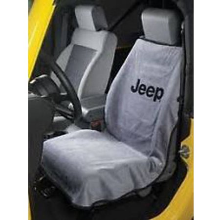 SeatArmour Jeep Letters Grey Seat Armour