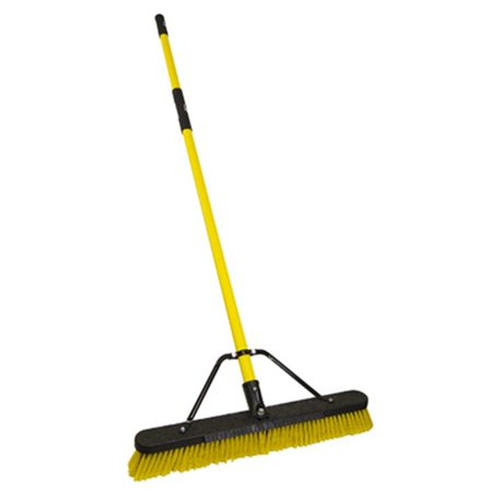 Image of Procter & Gamble 206555 24 in. Multi-Surface Fiberglass Push Broom