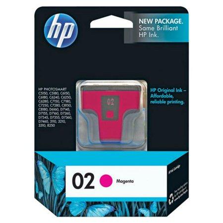 HP 02 Magenta Original Ink Cartridge (C8772WN) (Single Pack)