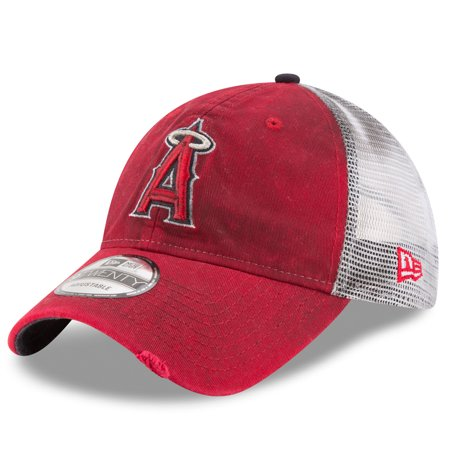 Los Angeles Angels Cufflinks (Los Angeles Angels New Era Team Rustic 9TWENTY Adjustable Hat - Red -)