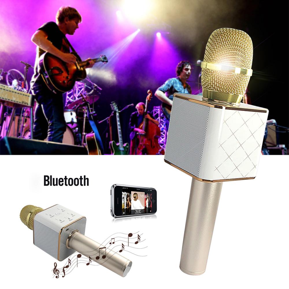 oobest Q7 Microphone Wireless Bluetooth Handheld KTV Karaoke Microphone Mic Speaker 2... by