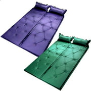 Double Self Inflating Pad Sleeping Mattress Air Bed Camping Hiking Sleeping Mat
