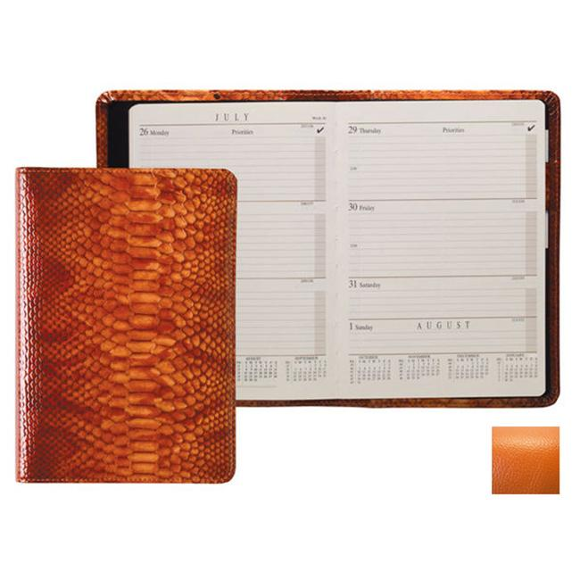 Raika RO 119 ORANGE Portable Desk Planner with Map - Orange