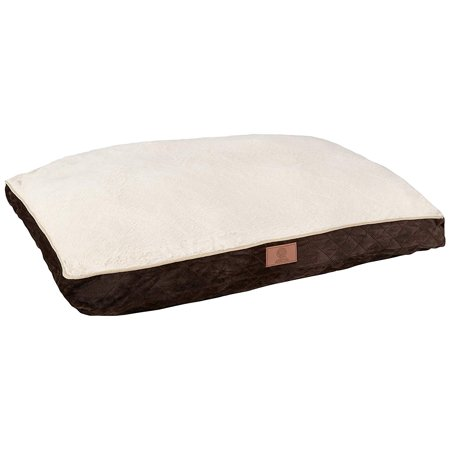 Cover 4 Dog Bed (Bow Wow Pet Fur Gusset Dog & Pet Bed, X-Large, Brown )