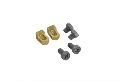 Brass Battery Terminal Adapter Kit,for Harley Davidson,by V-Twin