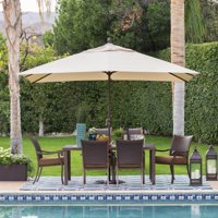 Coral Coast 8 x 11 ft. Aluminum Rectangle Patio Umbrella
