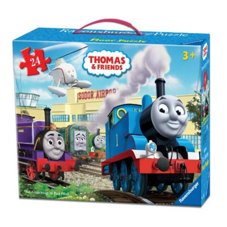 Thomas & Friends at The Airport Floor Puzzle in a Suitcase Box, -