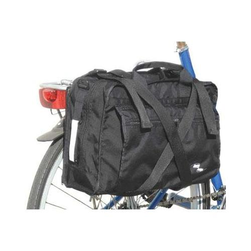 Inertia Business Bicycle Pannier Bag - Black - 12160