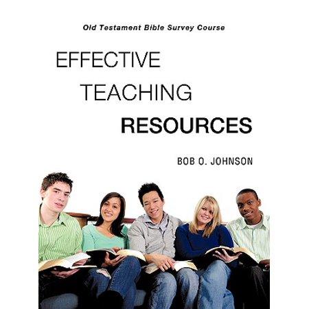Effective Teaching Resources, Old Testament Bible Survey (Prentice Hall Gold Algebra 2 Teaching Resources)