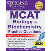 Sterling Test Prep MCAT Biology & Biochemistry Practice Questions: High Yield MCAT Questions (Paperback)