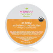 Best Belly Butters - Mambino Organics Oh Baby! Belly Butter – USDA Review