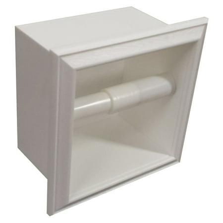 Wg Wood Ruby Plastic Recessed Toilet Paper Holder