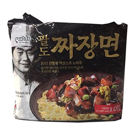 Paldo Korean Ramen Family Pack  Jjajang