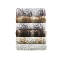 Home Essence Marselle Oversized Luxuriously Soft Faux Fur Throw