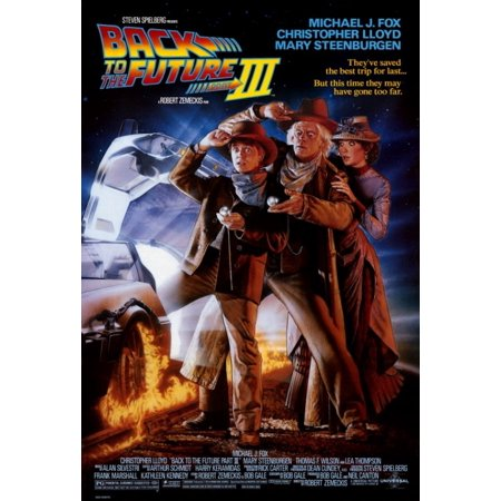 Back To The Future Part 3 Movie Poster Print  27 X 40