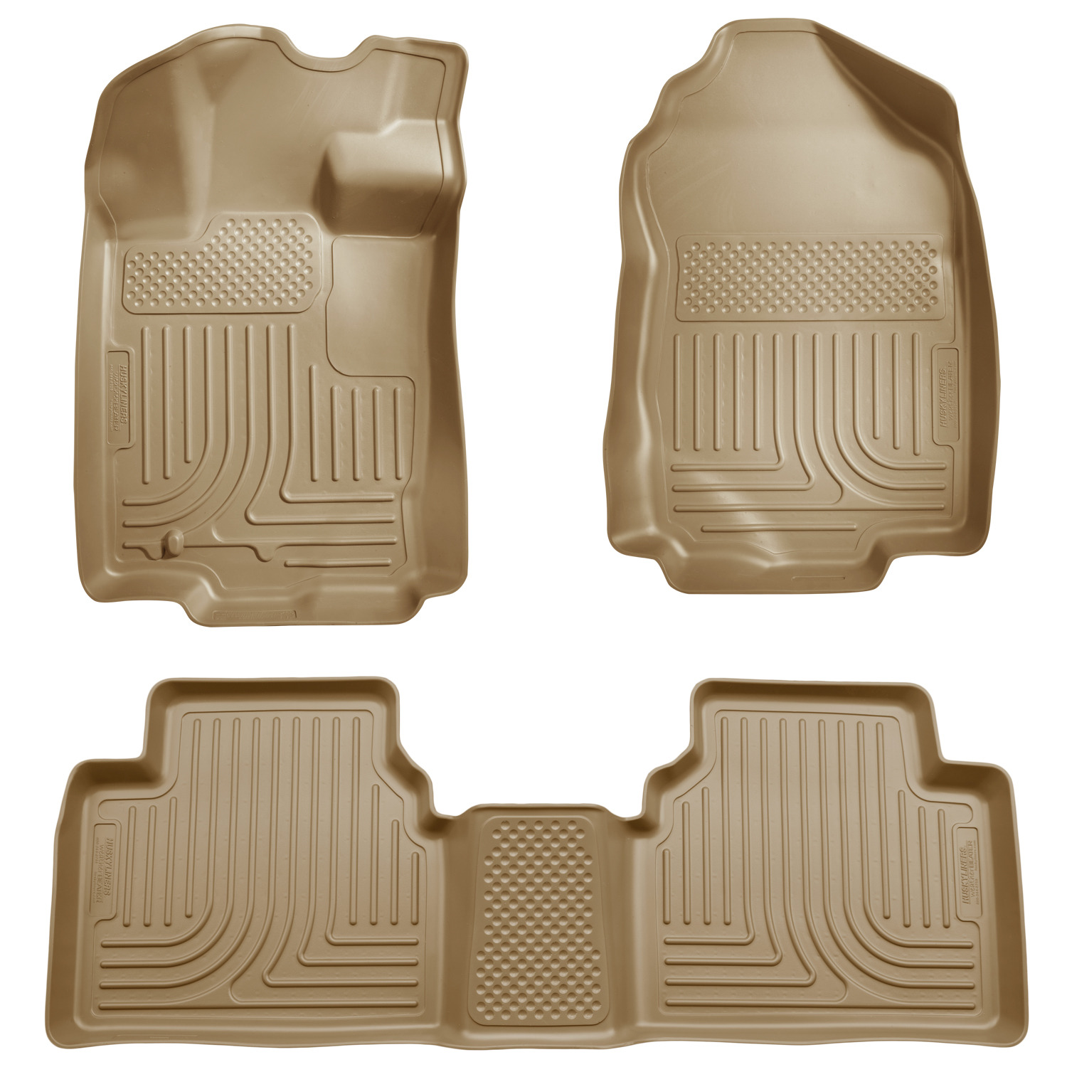 Husky Liners Front /& 2nd Seat Floor Liners Fits 10-12 Fusion//MKZ FWD 98363