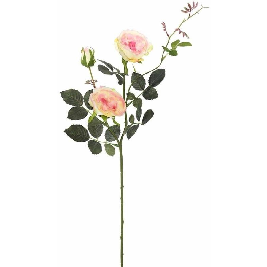 """Vickerman 31"""" Artificial Yellow and Pink Rose Spray (3 Per Pack)"""