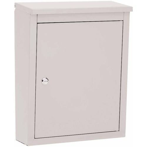 Architectural Mailboxes Soho Locking Wall Mount Mailbox, White by Architectural Mailboxes