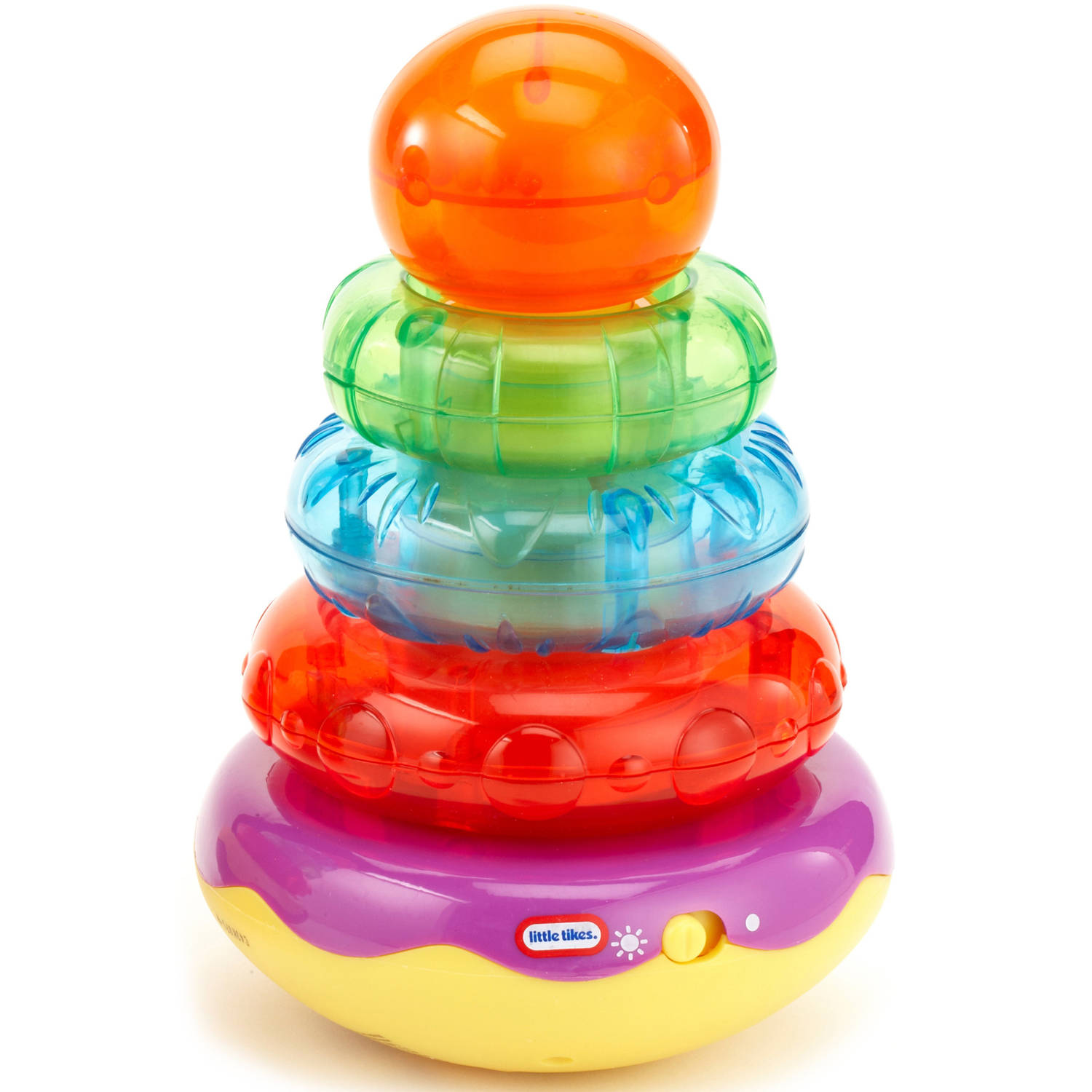 Little Tikes Light n' Sounds Stacker- Green  Orange by Little Tikes