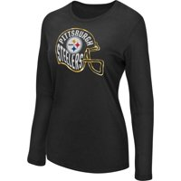 a528d78844d Product Image Women s Majestic Black Pittsburgh Steelers Turn it Loose Long  Sleeve T-Shirt