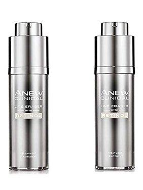 Avon Anew Clinical Line Eraser With Retinol Treatment set of 2
