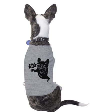 Boo French Bulldog Halloween Tshirt For Dogs Funny Costume - Bulldog Costume