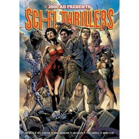 SCI FI THRILLERS (Best Sci Fi Fantasy Graphic Novels)