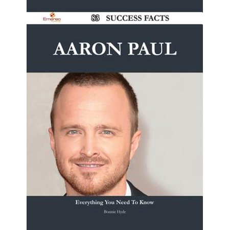 Aaron Paul 83 Success Facts - Everything you need to know about Aaron Paul - eBook](Bryan Cranston Aaron Paul Halloween)