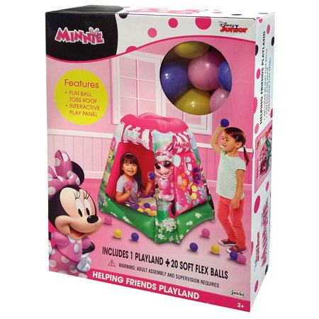 Minnie Mouse Inflatable Playland Ball Pit Assortment includes 20 Balls