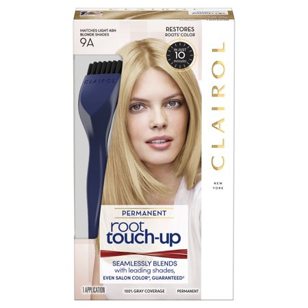 Clairol Root Touch-Up Permanent Hair Color, 9A Light Ash