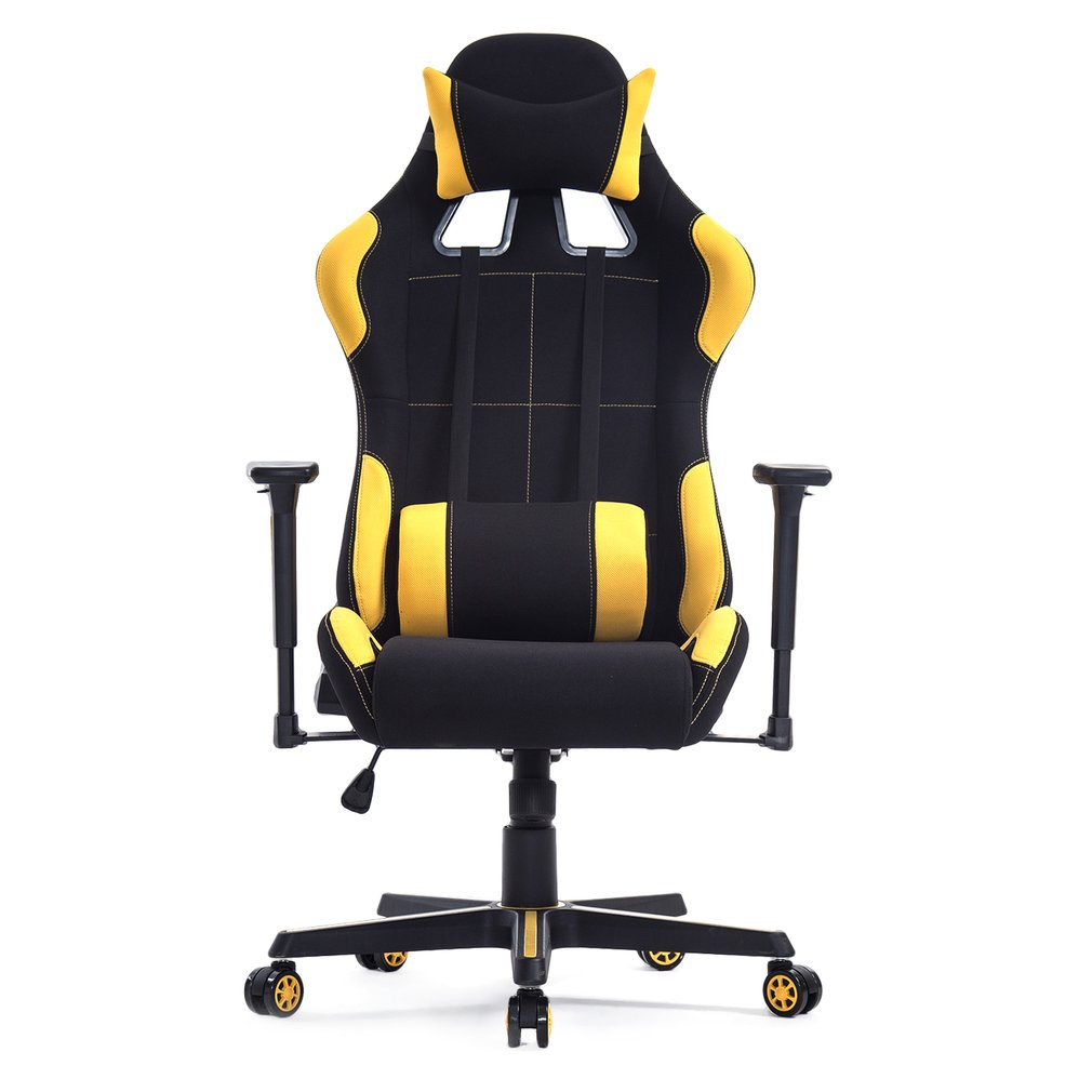 OUTAD - High Back Racing Gaming Chair 360 Degree Rotation Boss Office Chair Computer Chair With Armrest