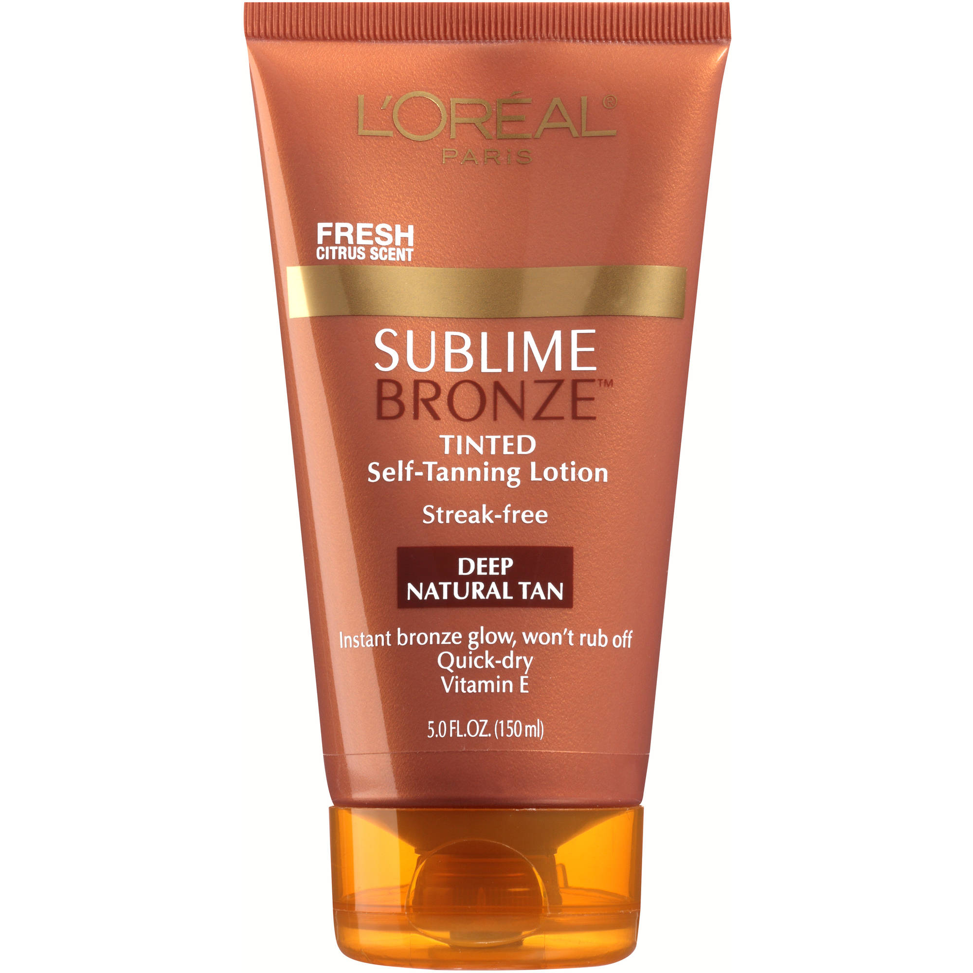 L'Oreal® Paris   Sublime Bronze™ Tinted Self-Tanning Lotion Deep Natural Tan, 5 fl oz