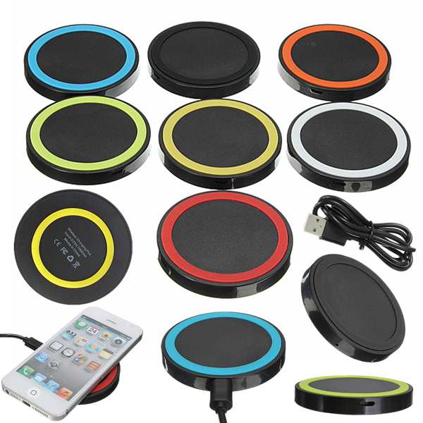 Slim QI Wireless Charging Charger Pad Mat For Smartphones Android Phone and all Qi-Enabled Devices