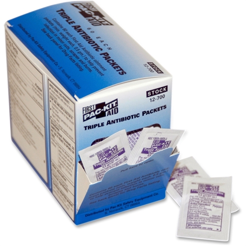 First Aid Only Triple Antibiotic Ointment Packets 12700