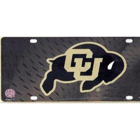 Colorado Buffaloes Metal License Plate - image 1 of 1