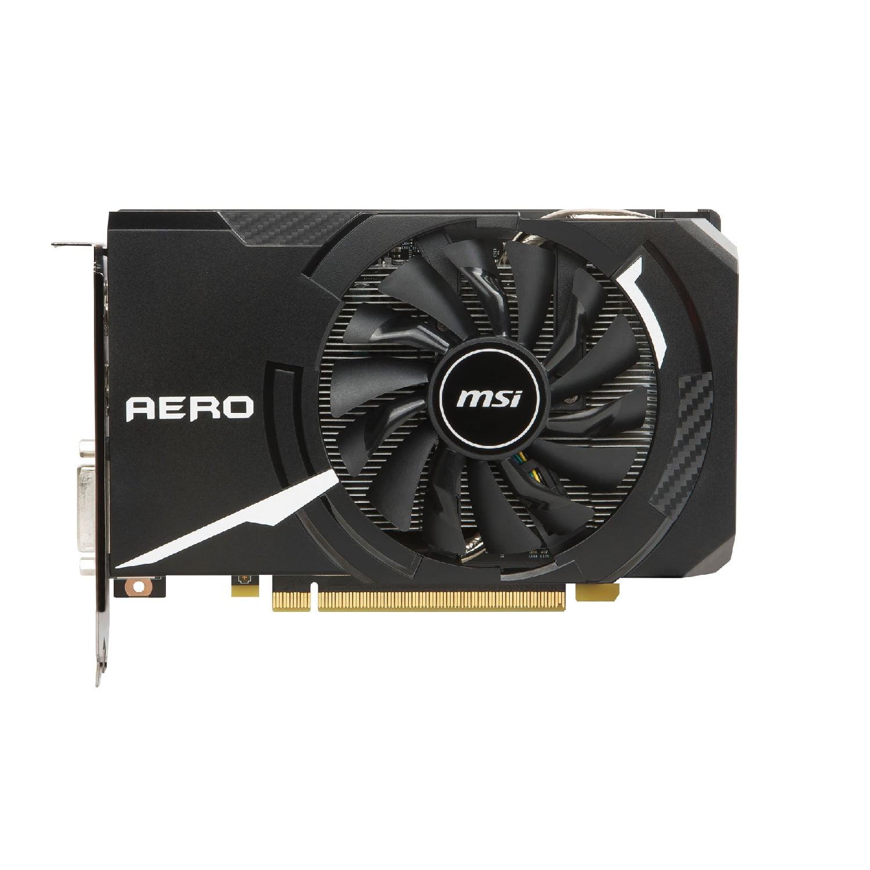 MSI GeForce GTX 1060 AERO ITX 6G OC 6GB 192-Bit GDDR5 PCI Express 3.0 x16 HDCP Ready Video Card