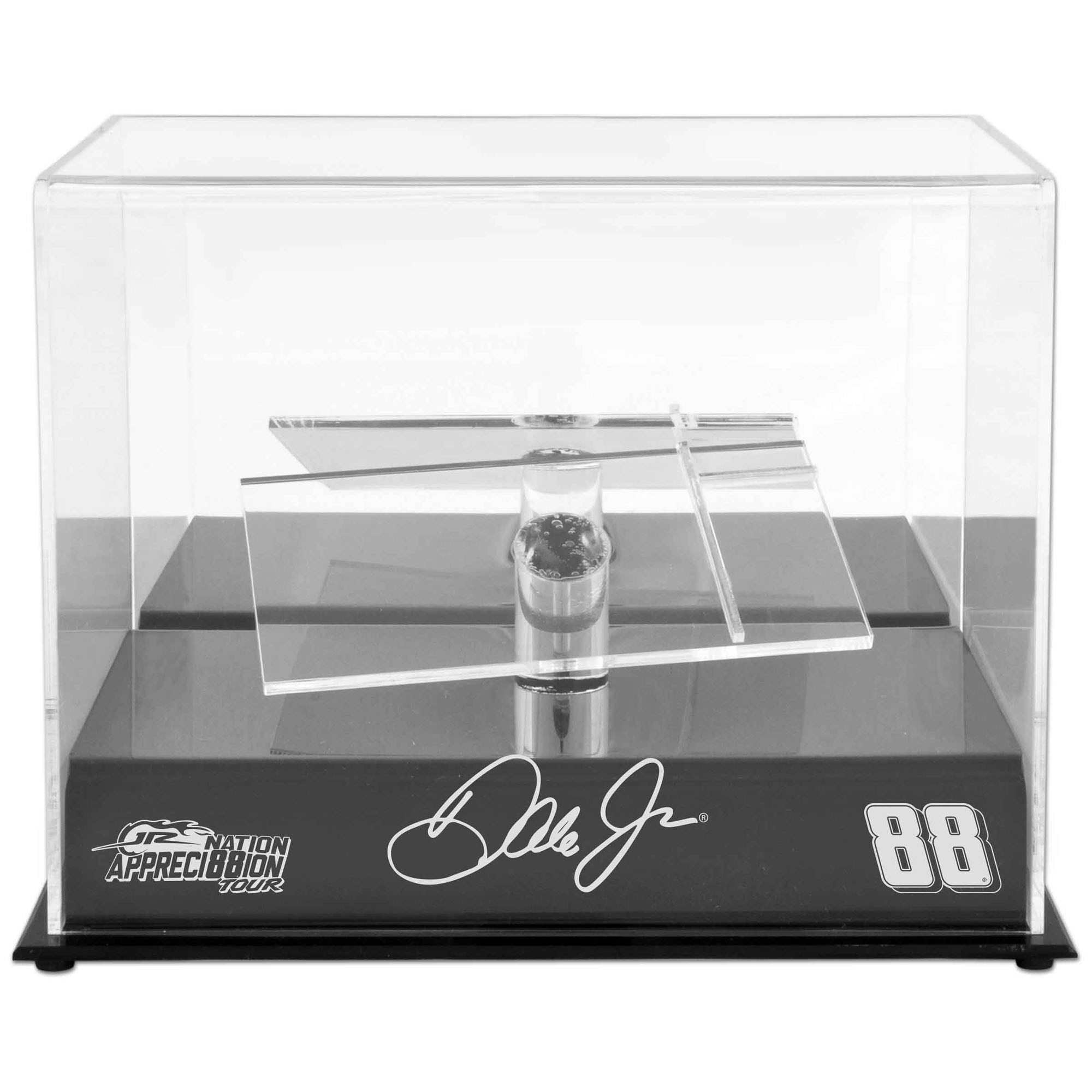 Dale Earnhardt Jr. Fanatics Authentic Die-Cast Case with Platforms and JR Nation Appreci88ion Logo - No Size