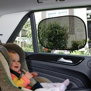 Dreambaby Insta-Cling Car Shades, Baby Sun Shades, 2 pack