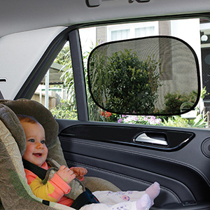 Dreambaby Insta-Cling Car Shades, 2 pack