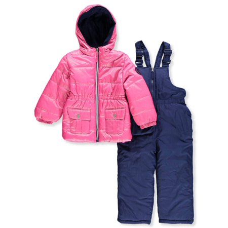 Pink Platinum Girls' 2-Piece Snowsuit - pink, 4](Navy Sailor Suit)